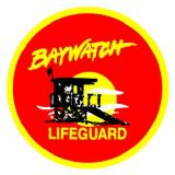 D.I.Y BAYWATCH IRON ON DECAL